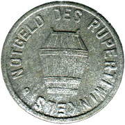 10 Pfennig  (Laufen) [Bezirksamt, Bayern] – reverse