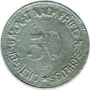 50 Pfennig (Wasserburg am Inn) [Bezirksamt, Bayern] – reverse