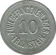10 Pfennig - Traunstein (Zivilgefangenenlager) – obverse