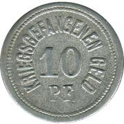 10 Pfennig - Traunstein (Zivilgefangenenlager) – reverse