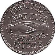 5 Pfennig (Arzberg) [Private, Bayern, Konsum-Verein] – obverse