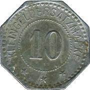 10 Pfennig (München) [Private, Bayern, Artillerie Werkstätten] – reverse