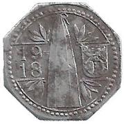 10 Pfennig (Frankenthal) [Private, Bayern, Zuckerfabrik Frankenthal] – obverse