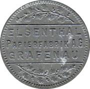 25 Pfennig (Elsenthal) [Private, Bayern, Papierfabrik Grafenau] – obverse