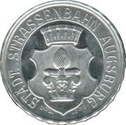 20 Pfennig (Augsburg) [Strassenbahn, Bayern] – obverse