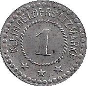 1 Pfennig Gutschow – reverse