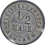 ½ Mark (Neudamm) [Stadt, Brandenburg] – obverse