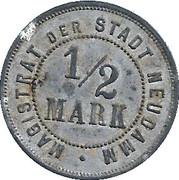 ½ Mark (Neudamm) [Stadt, Brandenburg] – reverse