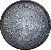 50 Pfennig (Fürstenfelde N./M.) [Stadt, Brandenburg] – reverse