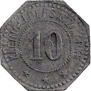 10 Pfennig (Bremen) [Private, Bremen, Heymann & Neumann] – reverse