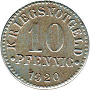 10 Pfennig (Braunschweig) [Herzogtum] – reverse