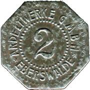 2 Pfennig (Eberswalde) [Private, Brandenburg, Ardeltwerke GmbH] – obverse