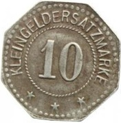 10 Pfennig (Heldrungen)[Private, Provinz Sachsen, Gewerkschaft Heldrungen II] -  reverse