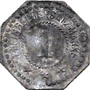 1 Pfennig (Linden) [Private, Hannover, Hanomag] – reverse