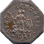 10 Pfennig (Bensheim) [Stadt, Hessen] – obverse