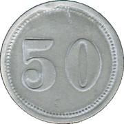 50 Pfennig (Alsfeld) [Stadt, Hessen] – reverse