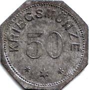 50 Pfennig (Alzey) [Stadt, Hessen} – reverse