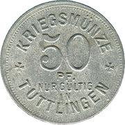 50 Pfennig (Tuttlingen) [Stadt, Württemberg] – reverse