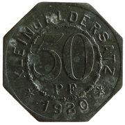 50 Pfennig (Bad Mergentheim) [Stadtgemeinde, Württemberg] – reverse