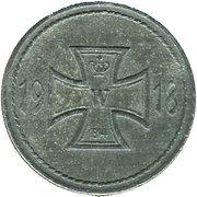 10 Pfennig (Künzelsau) [Bezirk, Württemberg] – reverse