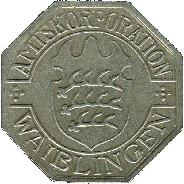 50 pfennig waiblingen amtskorporation w rttemberg - Mobel waiblingen ...