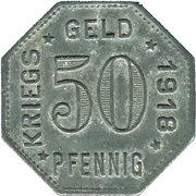 50 Pfennig (Mengen) [Stadt, Württemberg) – reverse
