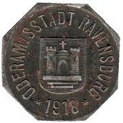 50 Pfennig (Ravensburg) [Oberamtsstadt, Württemberg] – obverse