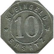 10 Pfennig (Leutkirch) [Oberamtsstadt, Württemberg] – reverse