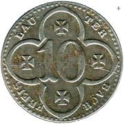 10 Pfennig (Lauterbach) [Kreis, Hessen] – obverse