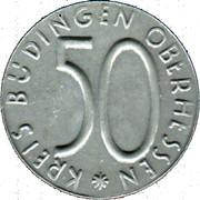 50 Pfennig (Büdingen) [Kreis, Hessen] – obverse