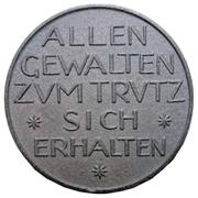 100 Mark (Röthenbach) [Private, Bayern, C. Conradty] – reverse