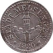 10 Pfennig (Melsungen) [Stadt, Hessen-Nassau] – obverse