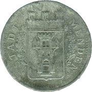 50 Pfennig (Menden) [Stadt, Westfalen] – obverse