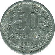 50 Pfennig (Unna) [Stadt, Westfalen] – reverse
