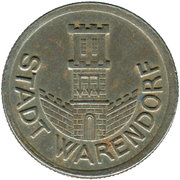 ½ Mark (Warendorf) [Stadt, Westfalen] – obverse