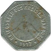 10 Pfennig (Warburg) [Kreis, Westfalen] – obverse