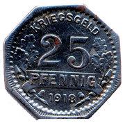 25 Pfennig (Hattingen) [Stadt, Westfalen] – reverse