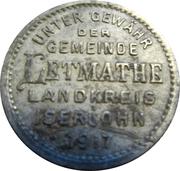 50 Pfennig (Letmathe) [Gemeinde, Westfalen] – obverse