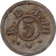 5 Pfennig  (Buer) [POW Camp, Westfalen] – obverse