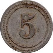 5 Pfennig  (Buer) [POW Camp, Westfalen] – reverse