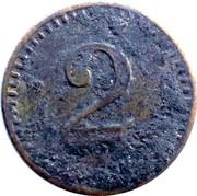 2 Pfennig (Oberrad) [Private, Hessen-Nassau, Familien-Verein] – reverse