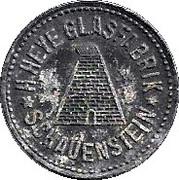 50 Pfennig (Schauenstein) [Private, Hessen-Nassau, H. Heye Glasfabrik] – obverse