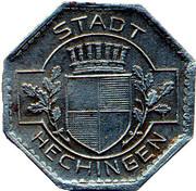 5 Pfennig (Hechingen) [Stadt, Hohenzollern] – obverse