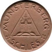 50 Pfennig (Münsterberg) [Stadt, Schlesien] – obverse