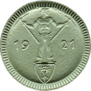 1 Mark (Waldenburg in Schlesien) [Stadt, Schlesien] – reverse