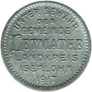 10 Pfennig (Letmathe) [Gemeinde, Westfalen] – obverse