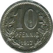 10 Pfennig (Unna) [Stadt, Westfalen] – reverse