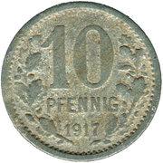 10 Pfennig (Wetter) [Stadt, Westfalen] – reverse