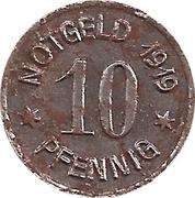10 Pfennig (Ratibor) [Stadt, Schlesien] – reverse