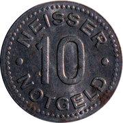 10 Pfennig (Neisse) [Stadt, Schlesien] – reverse